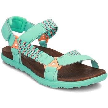 Shoes Women Sandals Merrell Around Town Sunvue Woven Green