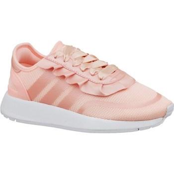 Shoes Children Low top trainers adidas Originals N5923 J Pink