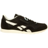 Shoes Women Low top trainers Reebok Sport CL NYLON SLIM EP Black, Cream