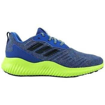 Shoes Children Low top trainers adidas Originals Alphabounce RC XJ Celadon,Blue