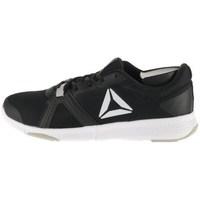 Shoes Men Low top trainers Reebok Sport Flexile Graphite,Black