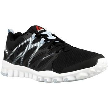 Shoes Women Fitness / Training Reebok Sport Realflex Train 40 Black, Grey