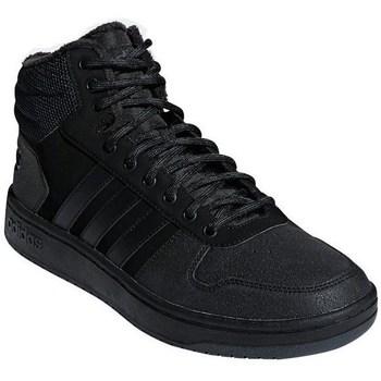 Shoes Men Low top trainers adidas Originals Hoops Mid 20 Black