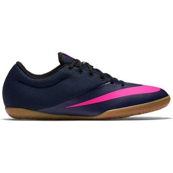 Shoes Men Football shoes Nike Mercurial X Pro Navy blue,Pink