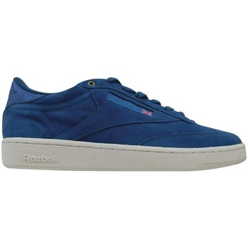 Shoes Men Low top trainers Reebok Sport Club C 85 Mcc Blue,Navy blue