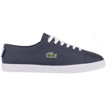 Shoes Women Low top trainers Lacoste 731SPJ0014NV1 Navy blue