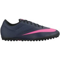 Shoes Men Football shoes Nike Mercurialx Pro Navy blue, Pink