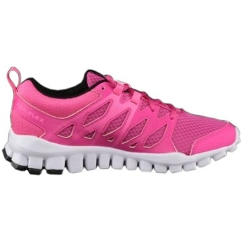 Shoes Women Low top trainers Reebok Sport Realflex Train 40 Pink