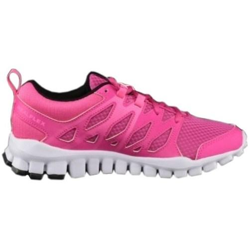 Shoes Women Low top trainers Reebok Sport Realflex Train 40 Pink