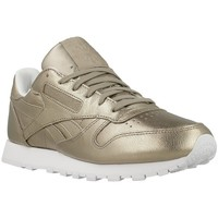 Shoes Women Low top trainers Reebok Sport CL Lthr L Golden