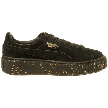 Shoes Women Derby Shoes & Brogues Puma Suede Platform Celebrate Wmns Black