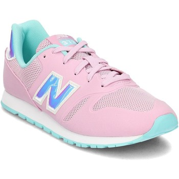 Shoes Children Derby Shoes & Brogues New Balance 373 Pink