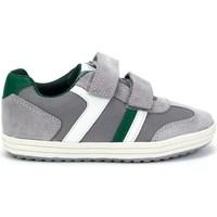 Shoes Boy Low top trainers Geox JR Vita Boy Grey