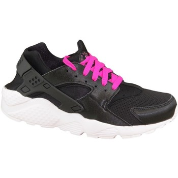 Shoes Children Running shoes Nike Huarache Run GS Black