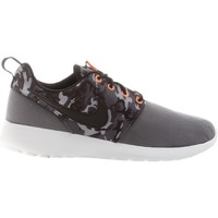 Shoes Children Low top trainers Nike Roshe One Print GS Grey