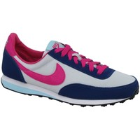Shoes Children Derby Shoes & Brogues Nike Elite Grey, Navy blue, Pink