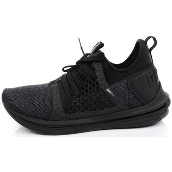 Shoes Men Derby Shoes & Brogues Puma Ignite Limitless SR Netfit Black
