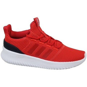 Shoes Children Low top trainers adidas Originals Cloudfoam Ultimate Red