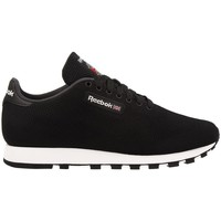 Shoes Men Low top trainers Reebok Sport CL Leather Ultk Black