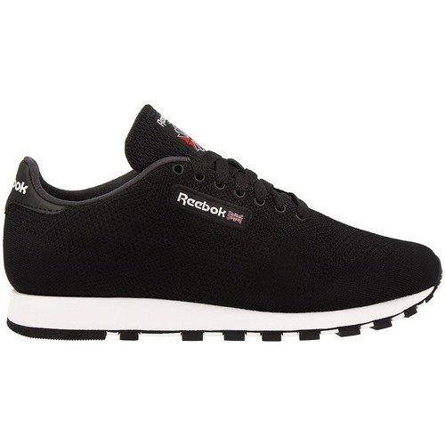 Shoes Men Low top trainers Reebok Sport CL Leather Ultk Black