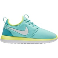 Shoes Children Low top trainers Nike Roshe Two White, Blue