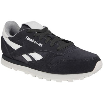 Shoes Women Low top trainers Reebok Sport CL Leather Suede White, Black, Grey