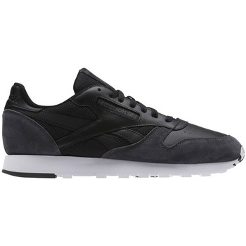 Shoes Men Low top trainers Reebok Sport CL Leather Black