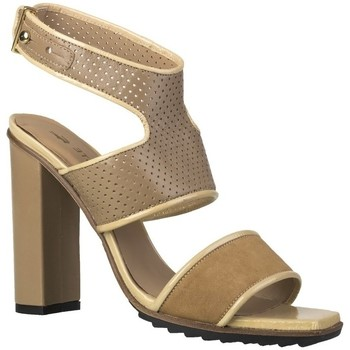 Shoes Women Sandals Lacoste Eliana 4 Srw Brown