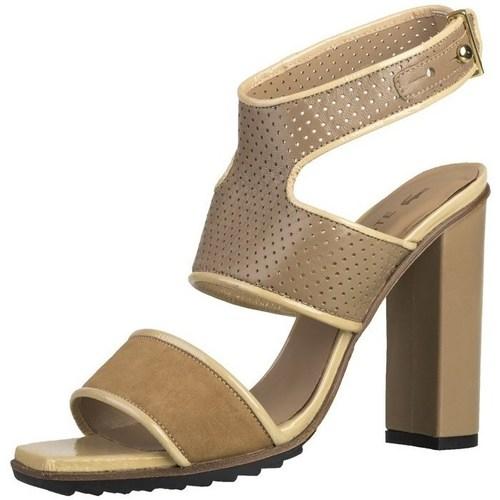 Shoes Women Sandals Lacoste Eliana 4 Srw Brown