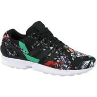 Shoes Women Low top trainers adidas Originals ZX Flux W White, Black