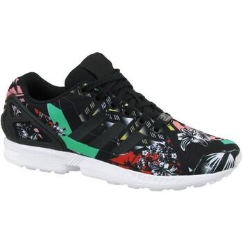Shoes Women Low top trainers adidas Originals ZX Flux W White,Black