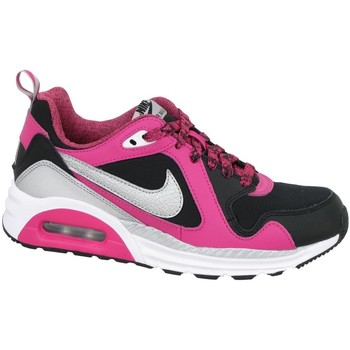 Shoes Children Low top trainers Nike Air Max Trax GS Black, Pink