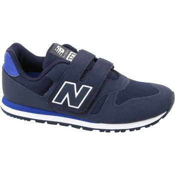 Shoes Children Low top trainers New Balance 373 Black,Blue