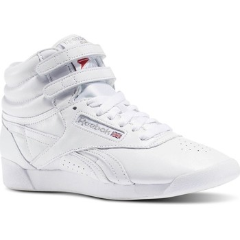 Shoes Women Hi top trainers Reebok Sport Freestyle HI OG Lux 35TH Anniversary White