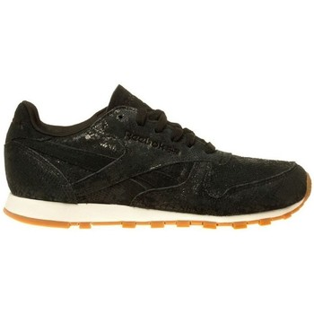 Shoes Women Low top trainers Reebok Sport Classic Lthr Clean Exotics Black
