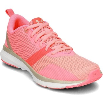 Shoes Women Low top trainers Under Armour Press 2 Pink