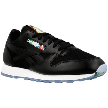 Shoes Men Low top trainers Reebok Sport CL Leather BF Black