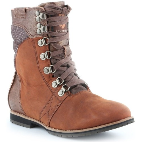Shoes Women Derby Shoes & Brogues Columbia Twentythird Ave WP Mid Brown