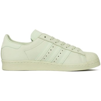 Shoes Men Low top trainers adidas Originals Superstar 80S Celadon,White,Green