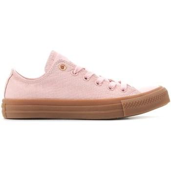 Shoes Women Derby Shoes & Brogues Converse Ctas OX Pink