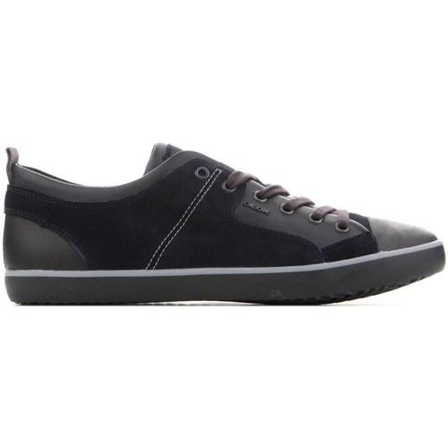Shoes Men Derby Shoes & Brogues Geox U Smart Black