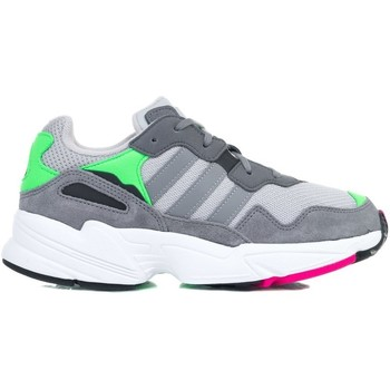 Shoes Children Low top trainers adidas Originals YUNG96 J Grey
