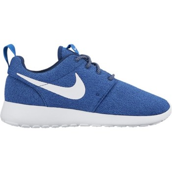 Shoes Women Low top trainers Nike Roshe 1 White,Blue