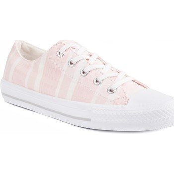 Shoes Women Derby Shoes & Brogues Converse Chuck Taylor All Star Gemma Pink