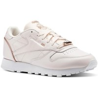 Shoes Women Low top trainers Reebok Sport CL Lthr Pink