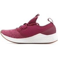Shoes Women Derby Shoes & Brogues New Balance WLAZRMP White, Pink, Burgundy