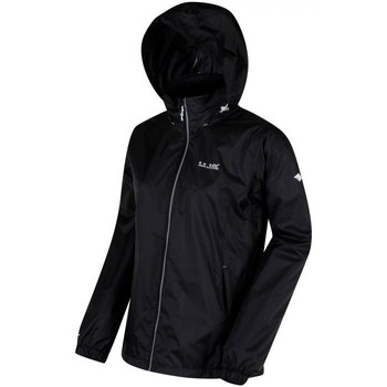 Clothing Women Jackets Regatta CORINNE IV Waterproof Shell Jacket Black