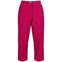 Clothing Women Cropped trousers Regatta Chaska Capri Walking Trousers Moccasin Pink Pink