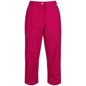 Clothing Women Cropped trousers Regatta Chaska Capri Walking Trousers Pink Pink