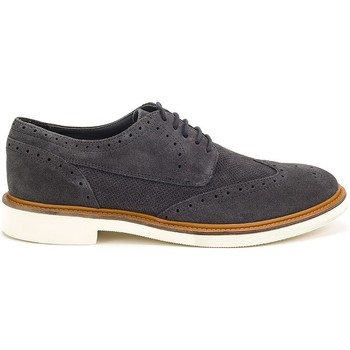 Shoes Men Derby Shoes Geox Damocle Graphite